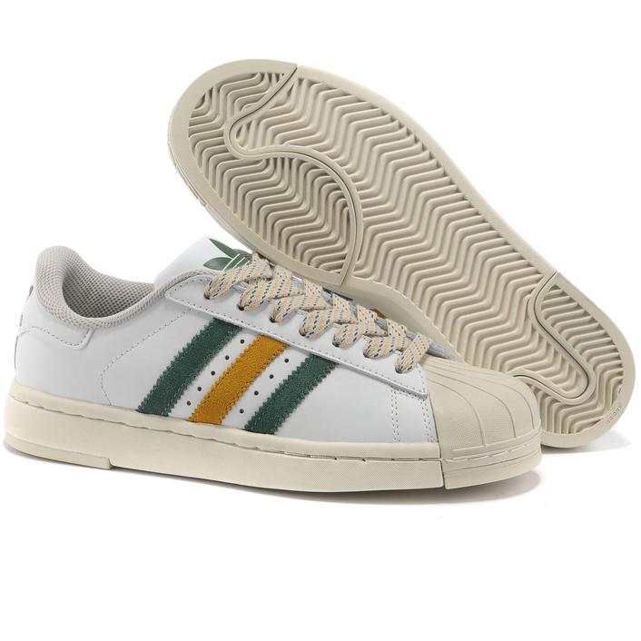 фото back Женские кроссовки Adidas superstar 2 Lite белые Топ качество back