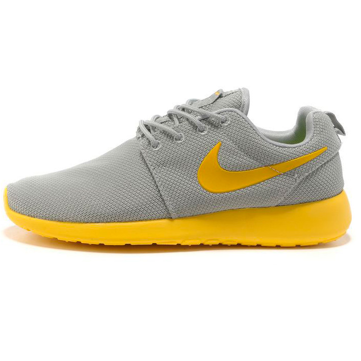 фото main Nike Roshe Run серо желтые main