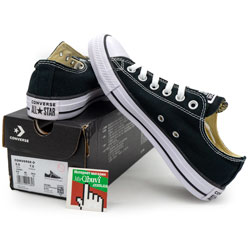 Converse низкие черные - Топ качество!