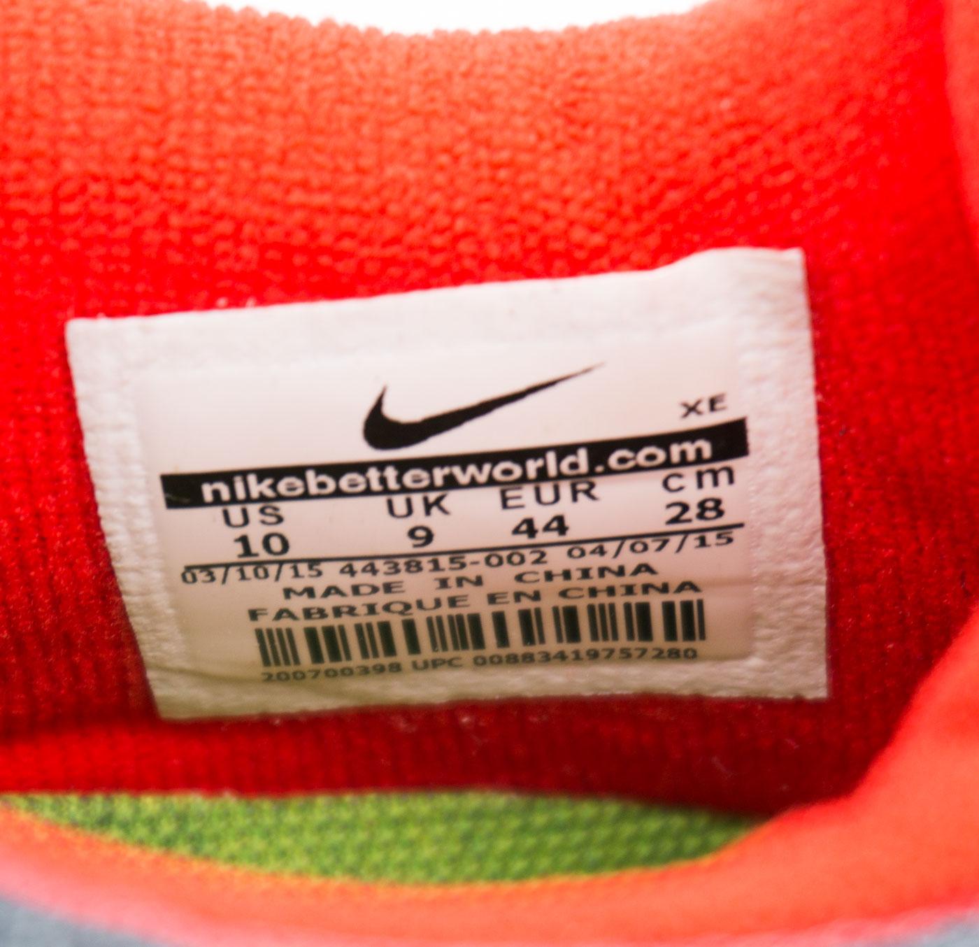большое фото №6 Кроссовки для бега Nike Free Run 2 Найк Фри Ран, серо-красные