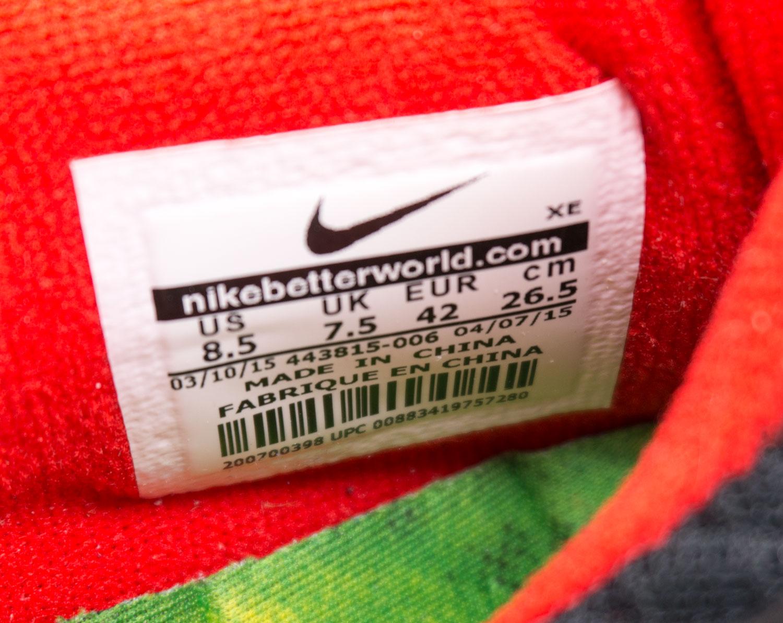 большое фото №6 Кроссовки для бега Nike Free Run 2 Найк Фри Ран, черные с красным