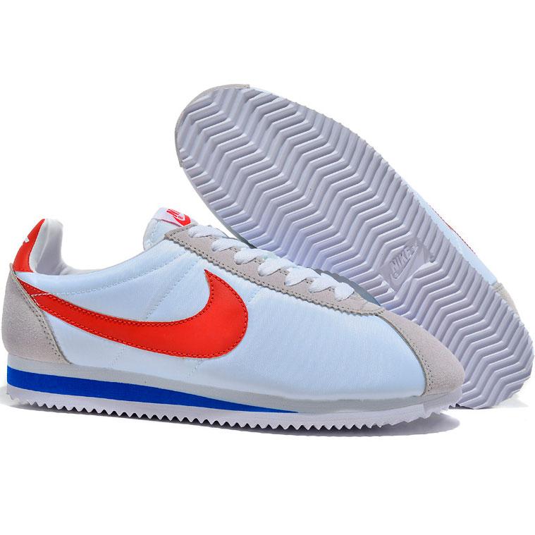 фото back Женские кроссовки Nike Classic Cortez Nylon 09 белые. Топ качество! back