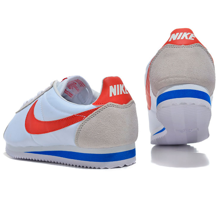 фото front Женские кроссовки Nike Classic Cortez Nylon 09 белые. Топ качество! front