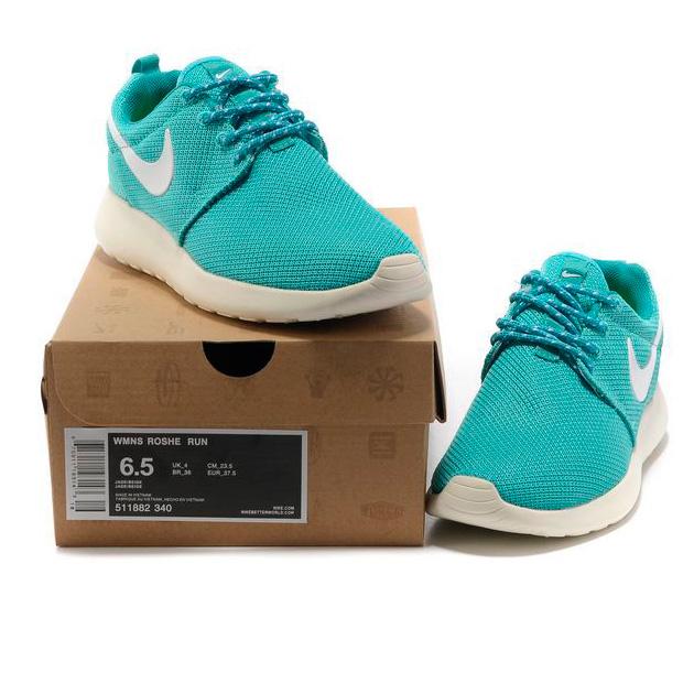 фото back Женские кроссовки Nike Roshe Run берюзовые. Топ качество!!! back