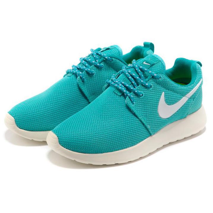 фото bottom Женские кроссовки Nike Roshe Run берюзовые. Топ качество!!! bottom