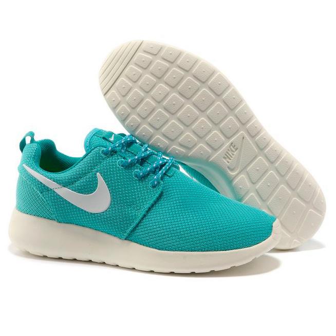 фото front Женские кроссовки Nike Roshe Run берюзовые. Топ качество!!! front