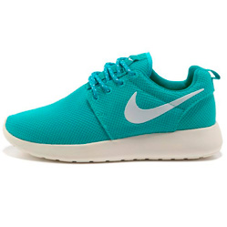 Женские кроссовки Nike Roshe Run берюзовые. Топ качество!!!