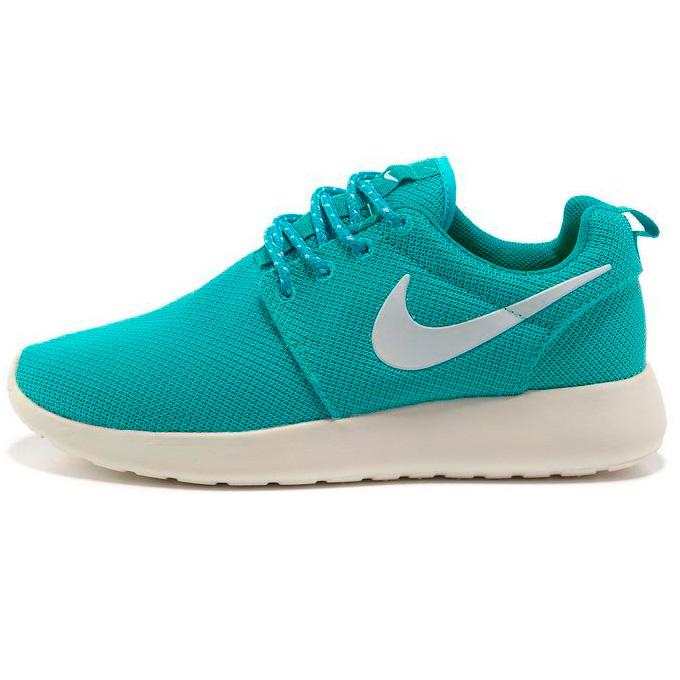 фото main Женские кроссовки Nike Roshe Run берюзовые. Топ качество!!! main