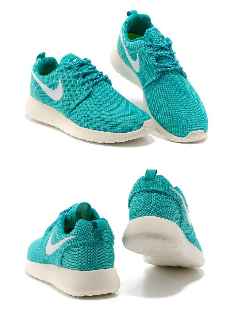 большое фото №6 Женские кроссовки Nike Roshe Run берюзовые. Топ качество!!!
