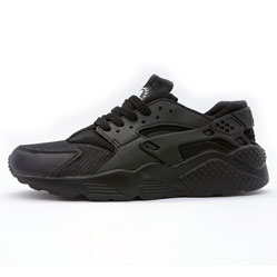 фото Женские кроссовки Nike Huarache полностью черные