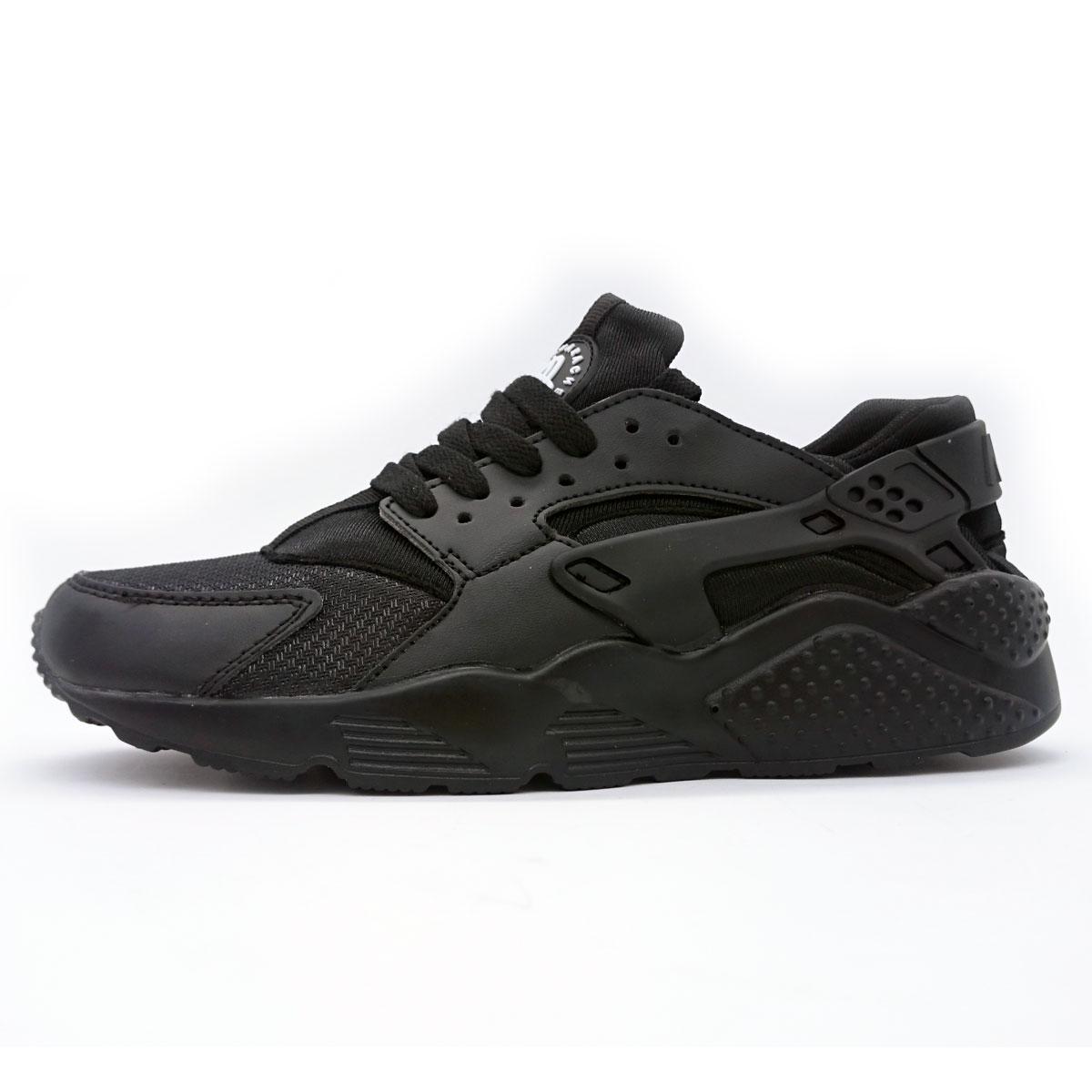 фото main Женские кроссовки Nike Huarache полностью черные main