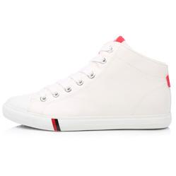 Мужские белые кожаные кеды RenBen 7181-1