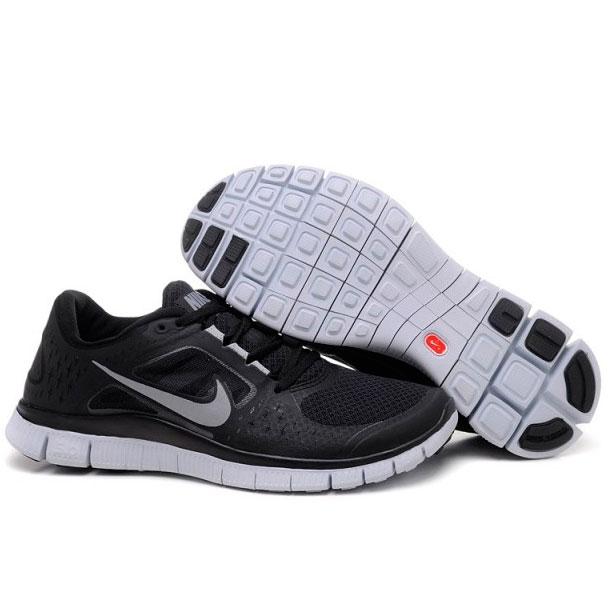 фото back Женские кроссовки для бега Nike Free Run 3 черные back