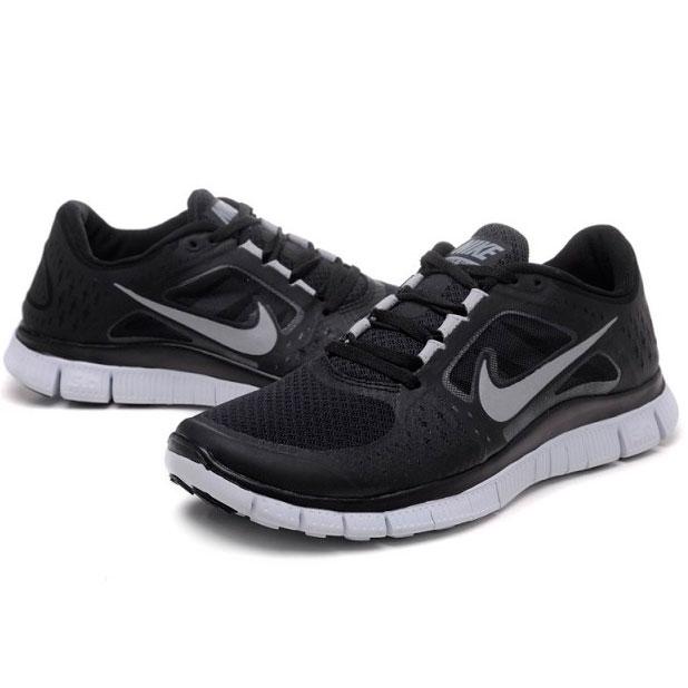 фото bottom Женские кроссовки для бега Nike Free Run 3 черные bottom