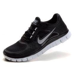 Женские кроссовки для бега Nike Free Run 3 черные