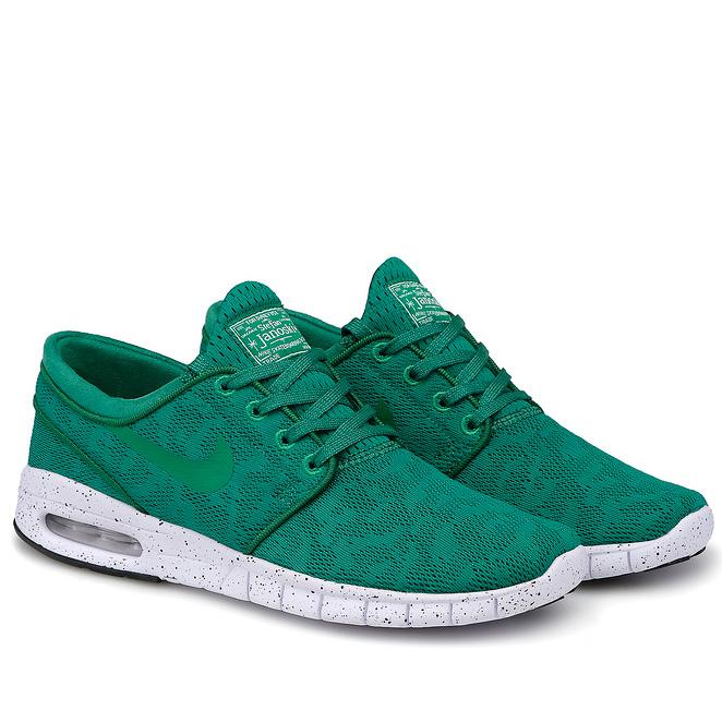 фото back Nike SB Stefan Janoski Max зеленые back