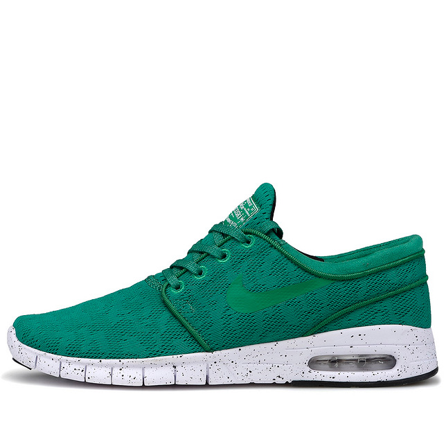 фото main Nike SB Stefan Janoski Max зеленые main
