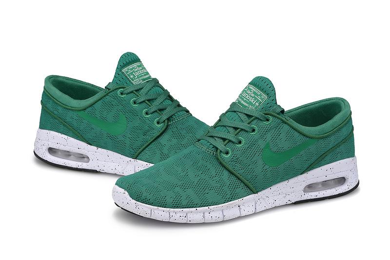 большое фото №6 Nike SB Stefan Janoski Max зеленые