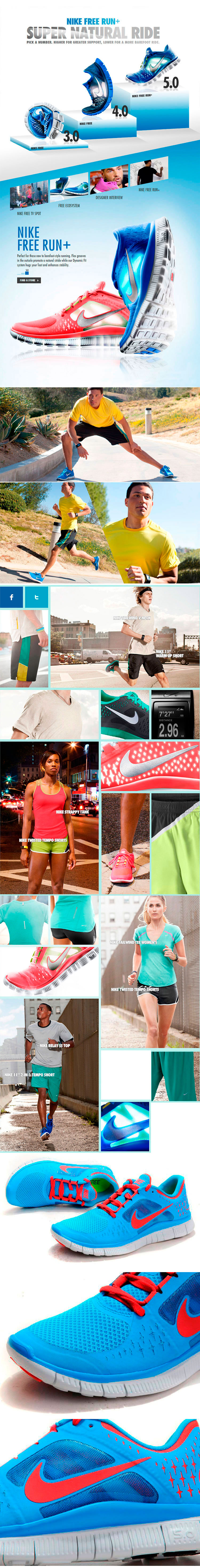 большое фото №6 Nike Free Run 3  5.0 510643 403