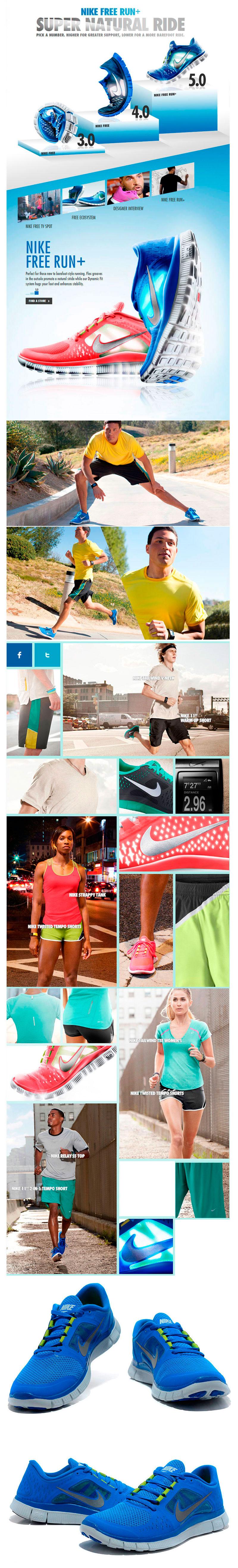 большое фото №6 Nike Free Run 3  5.0 510643 401