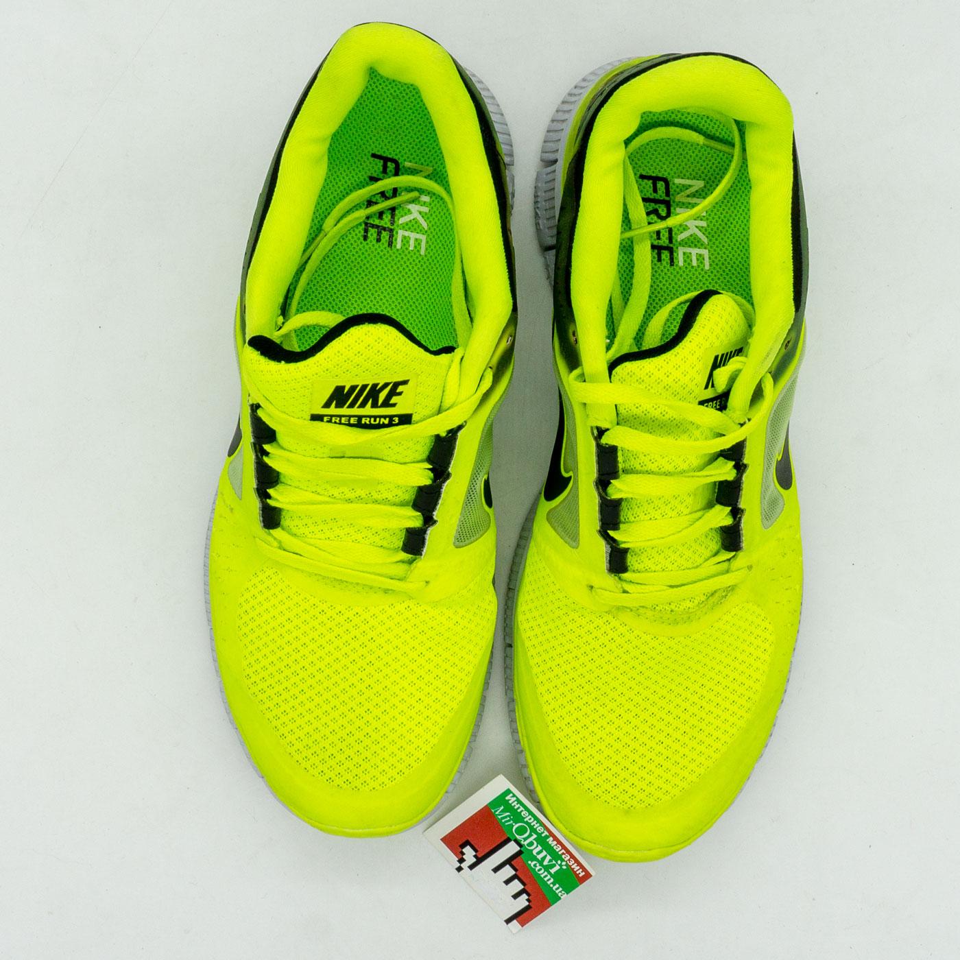 фото front Женские кроссовки для бега Nike Free Run 3 берюзовые front