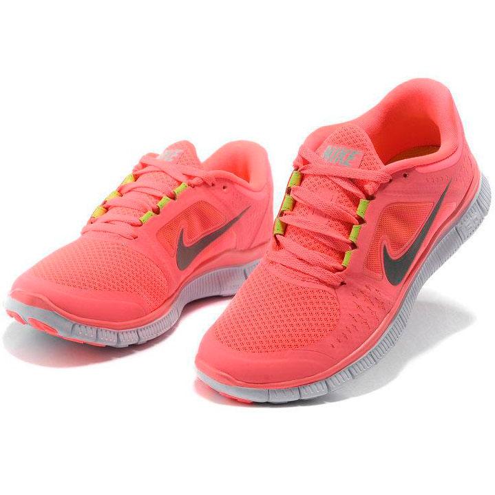 фото back Женские кроссовки для бега Nike Free Run 3 розовые back