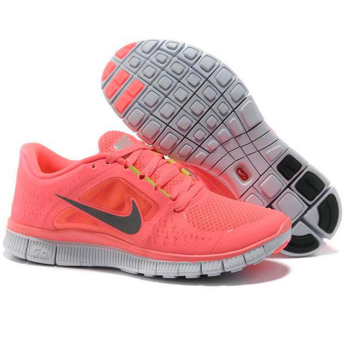 фото bottom Женские кроссовки для бега Nike Free Run 3 розовые bottom