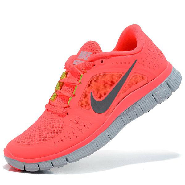 фото main Женские кроссовки для бега Nike Free Run 3 розовые main
