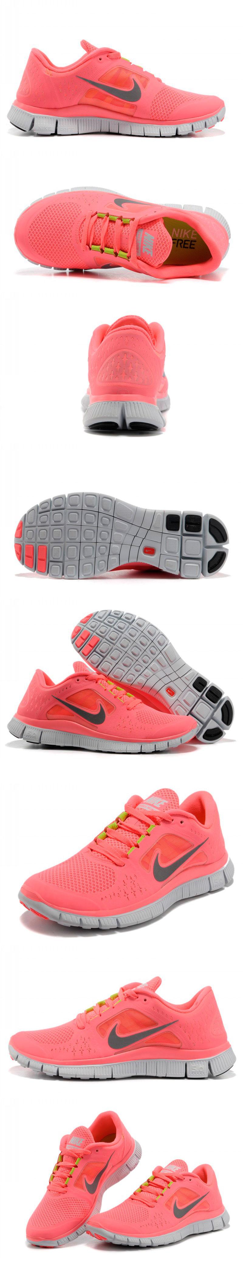 большое фото №6 Женские кроссовки для бега Nike Free Run 3 розовые