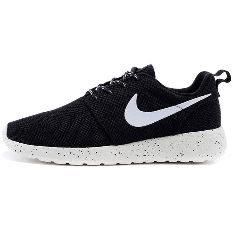 фото main Nike Roshe Run черно белые в крапинку. Топ качество!!! main