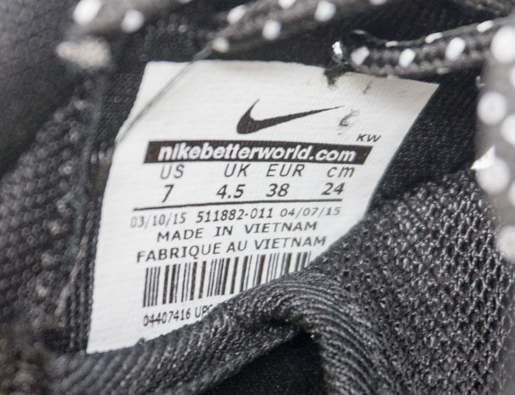 большое фото №6 Nike Roshe Run черно белые в крапинку. Топ качество!!!