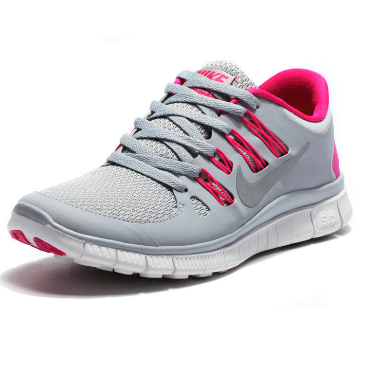 фото front Nike Free 5.0+ 579959 061 серые front