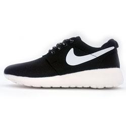 Nike Roshe Run черно белые