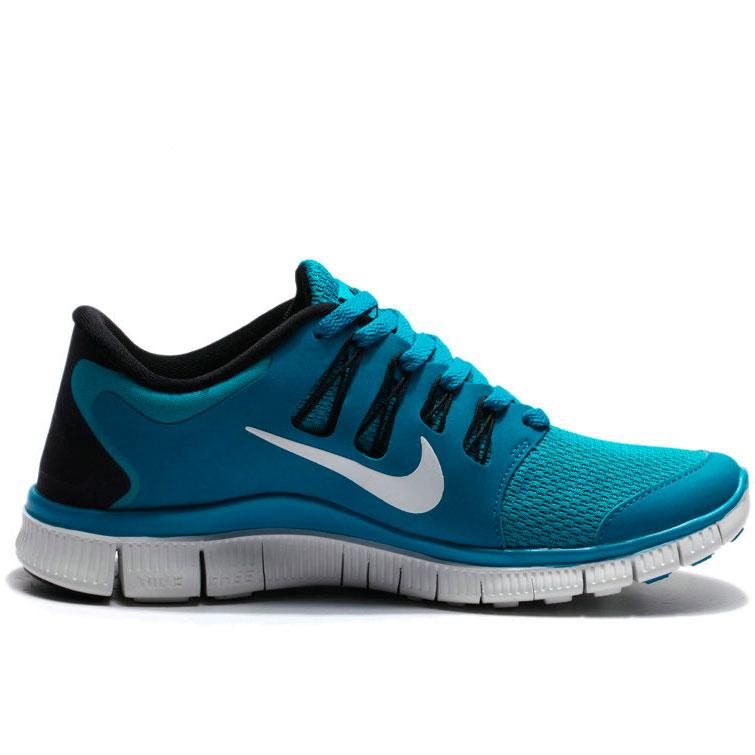 фото front Женские кроссовки для бега Nike Free 5.0+  берюзовые front