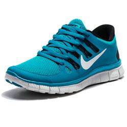 Женские кроссовки для бега Nike Free 5.0+  берюзовые