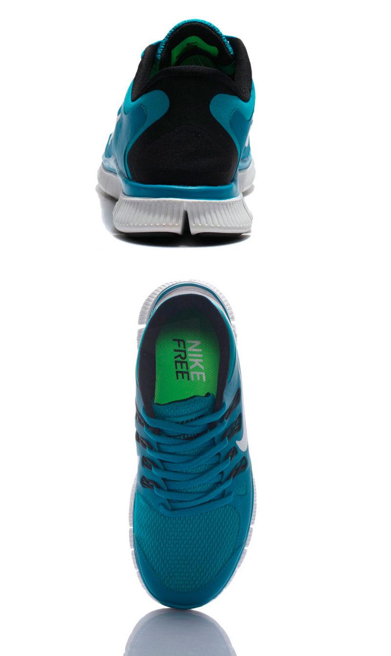 большое фото №6 Женские кроссовки для бега Nike Free 5.0+  берюзовые