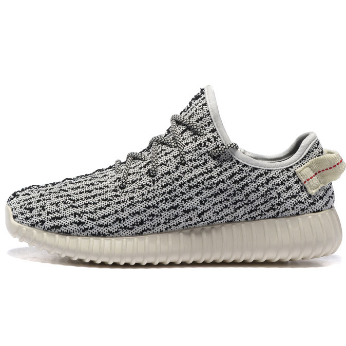 фото main Кроссовки Adidas Kanye West Yeezy 350 белые с серым - Топ качество main