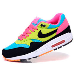 Nike Air Max 87 moon black yellow pink