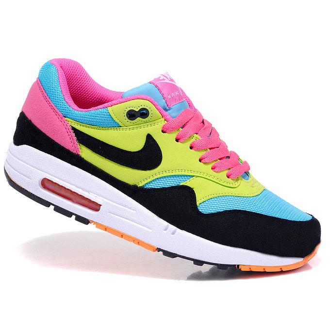 фото main Nike Air Max 87 moon black yellow pink main