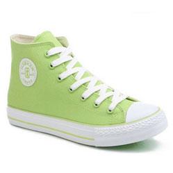 Женские зеленые кеды RenBen 8131-2