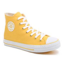 Женскиек желтые кеды RenBen 8131-1
