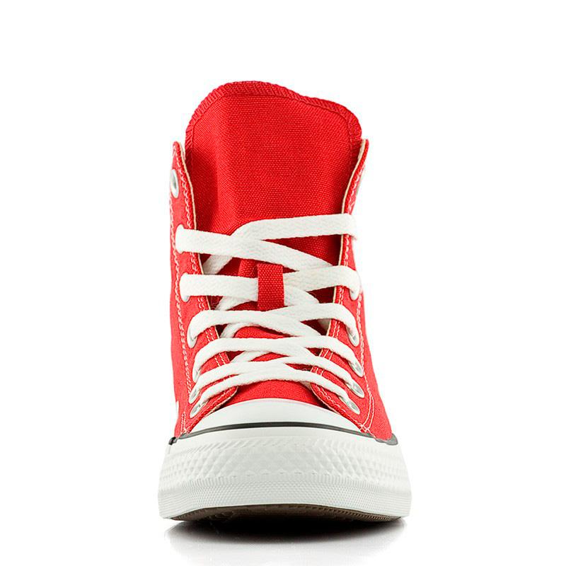 фото front Кеды Converse высокие красные 2 - Топ качество! front