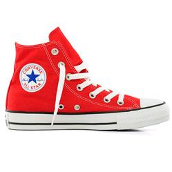 Converse высокие красные 2 - Топ качество!