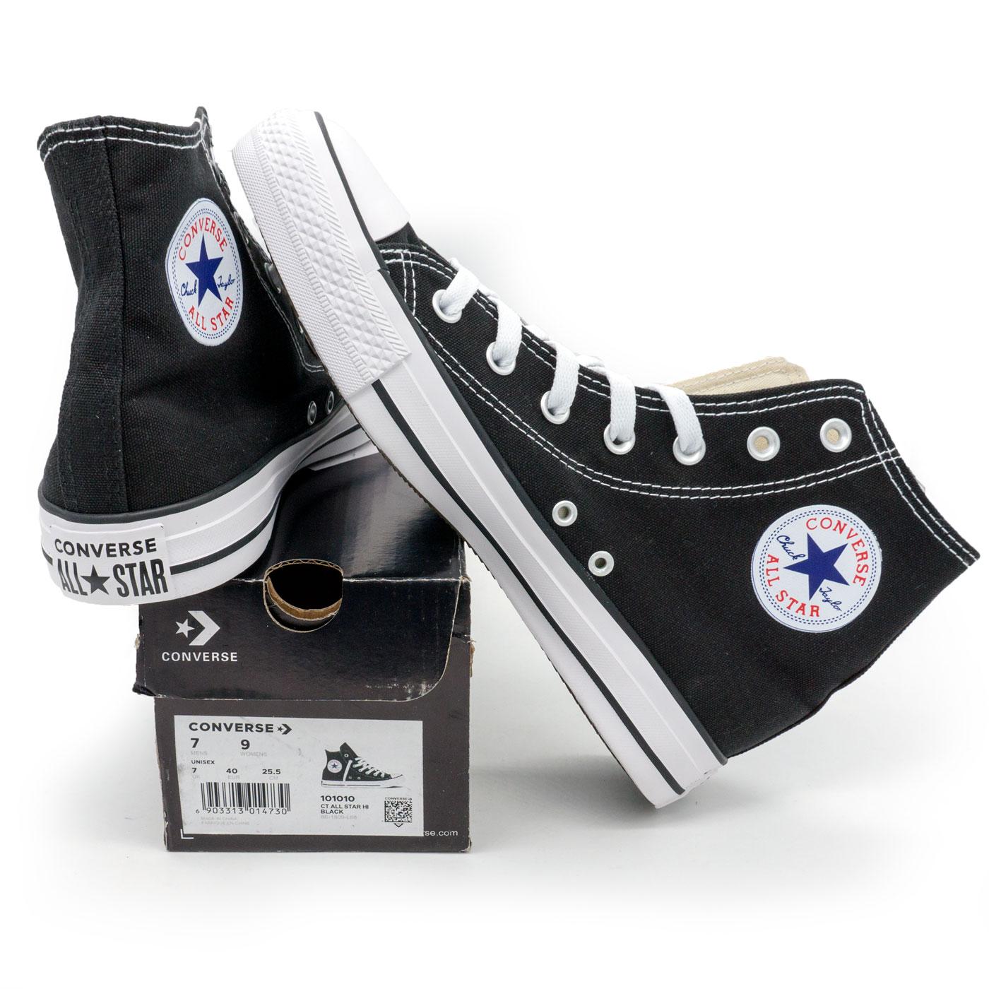 фото main Кеды Converse высокие черные - Топ качество! main