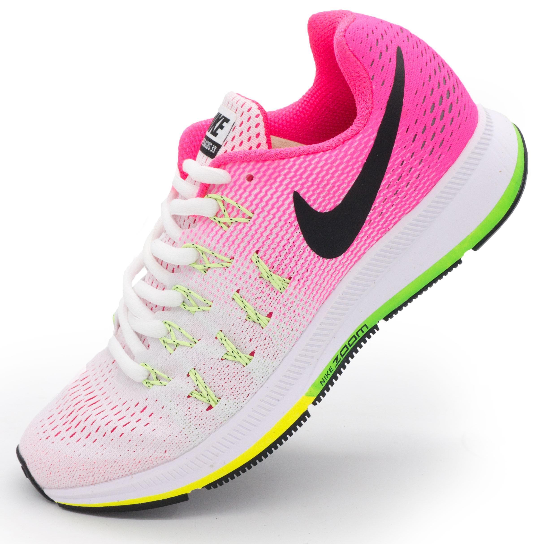фото main Женские кроссовки для бега Nike Zoom Pegasus 33 светло-розовые. Топ качество! main