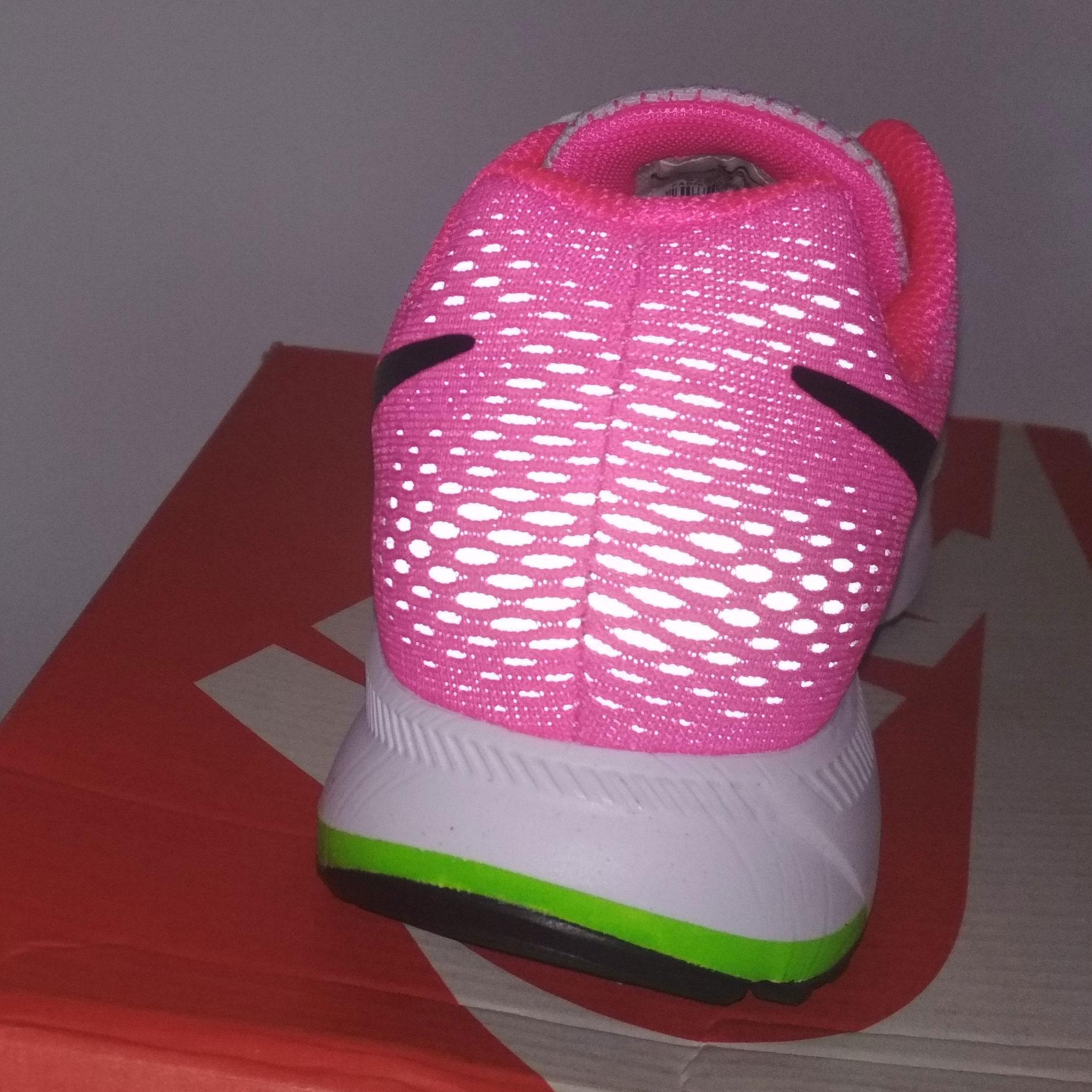 большое фото №6 Женские кроссовки для бега Nike Zoom Pegasus 33 светло-розовые. Топ качество!