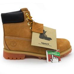 Зимние ботинки Тимберленд 10061 c мехом Original