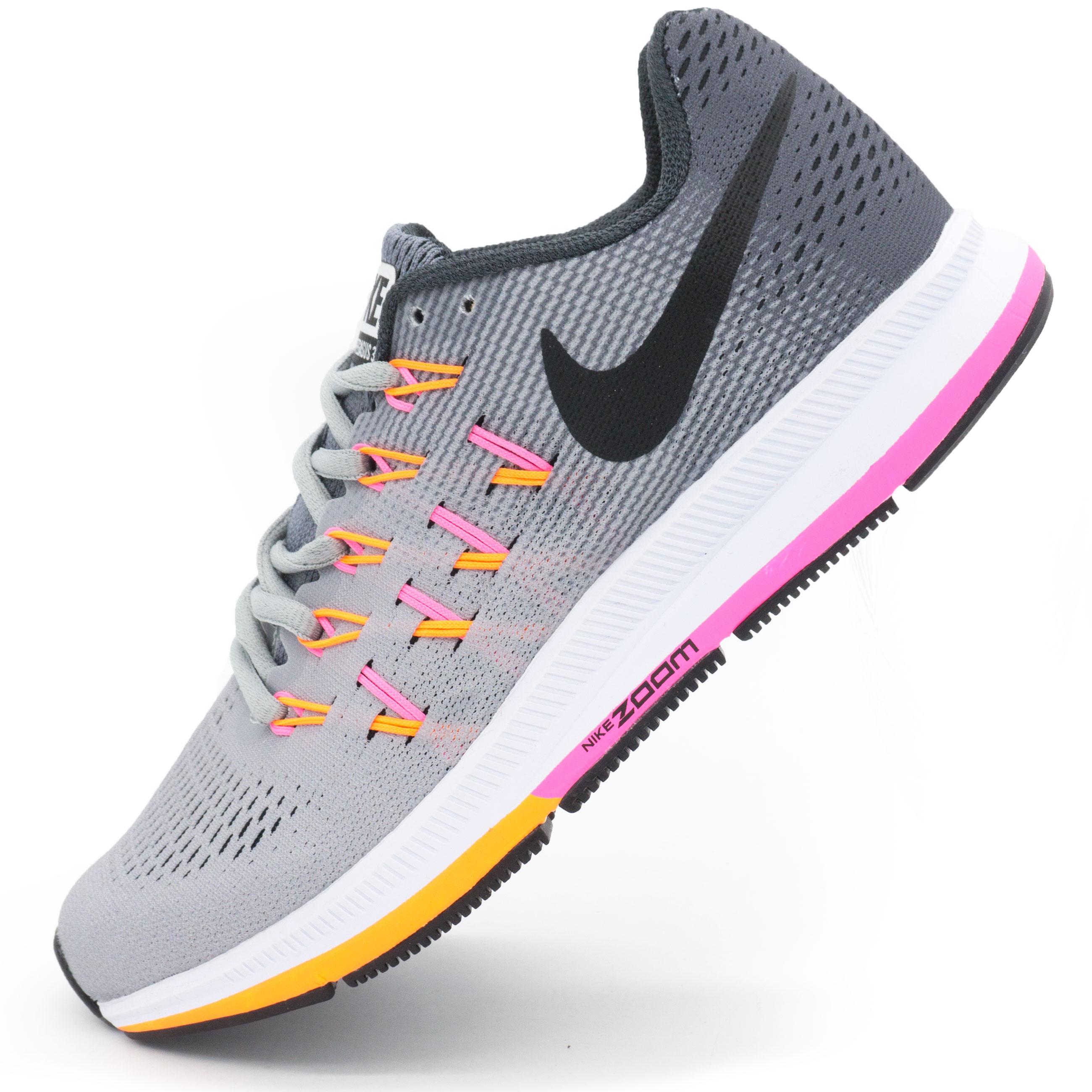фото main Женские кроссовки для бега Nike Zoom Pegasus 33 Серые. Топ качество! main