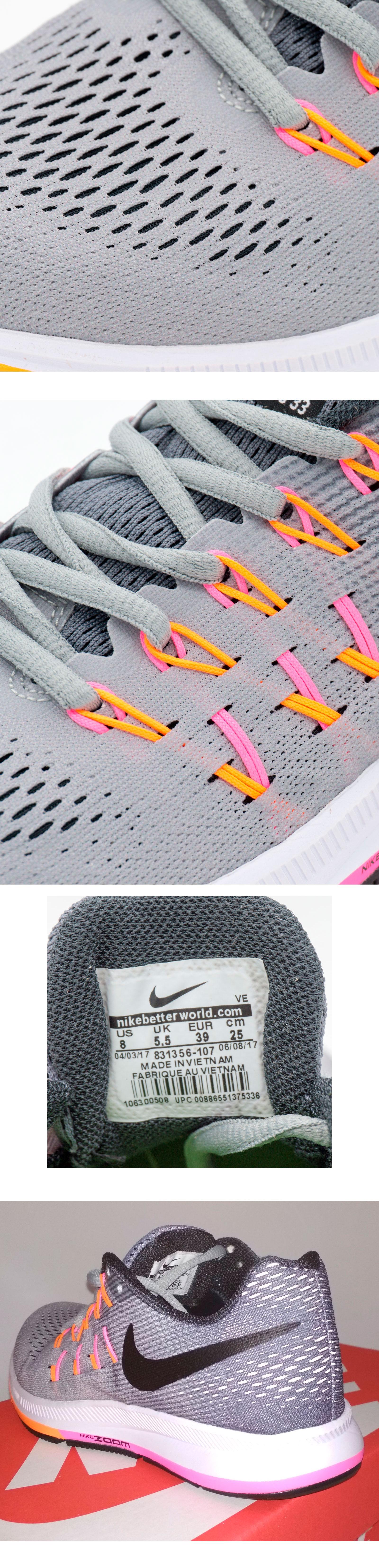 большое фото №6 Женские кроссовки для бега Nike Zoom Pegasus 33 Серые. Топ качество!