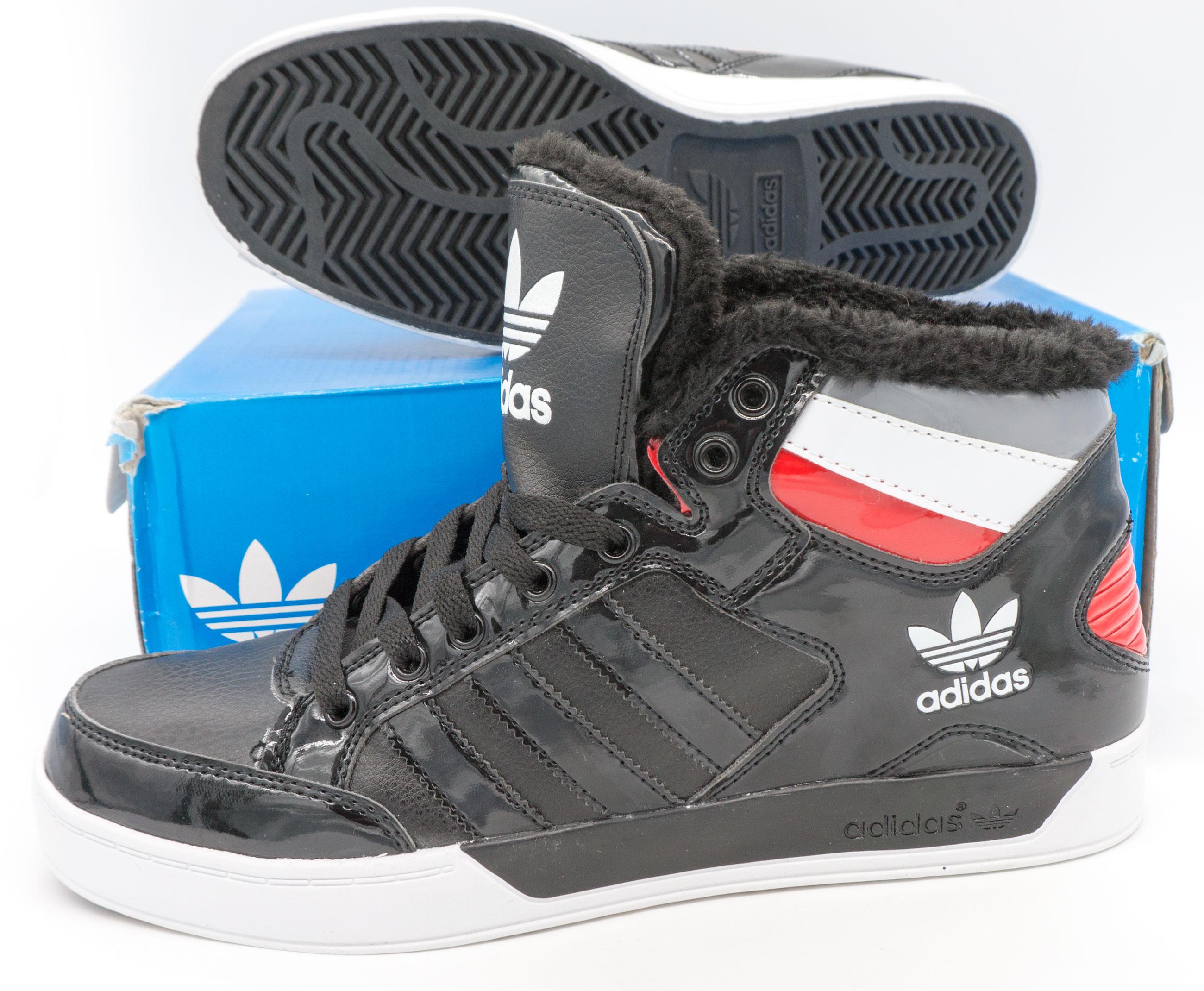 фото bottom Зимние кроссовки Adidas G21405 черные bottom